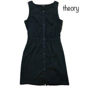 Theory - Sleeveless, silk little black dress! Sz 0